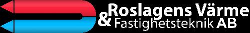 Bild av företagets logo med texten Roslagens Värme & Fastighetsteknik