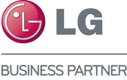 Logotype of the company LG